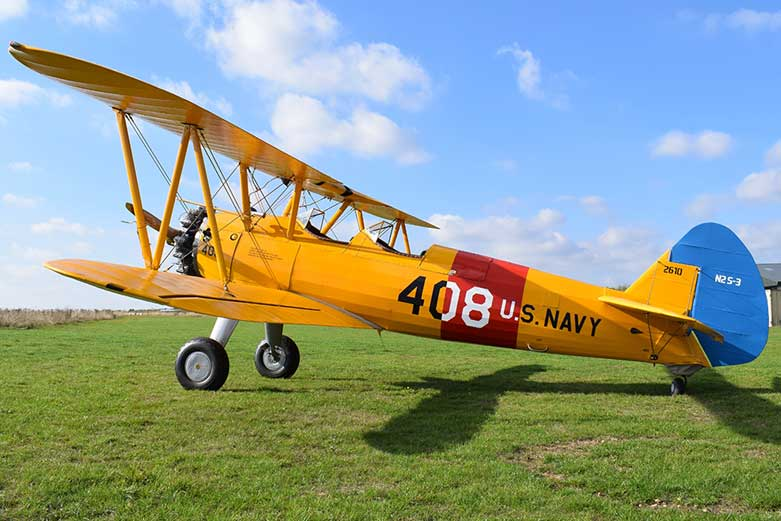Image of Air Freedom's classic Boeing Stearman